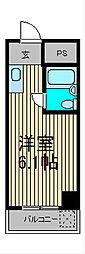 メゾン・ド・飯塚[1階]の間取り