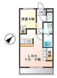 la maison de felice(メゾンドフェリーチェ)[2階]の間取り