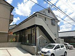 愛知県日進市南ケ丘3丁目の賃貸アパートの外観