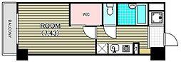 スカイホーム宝泉II[4階]の間取り
