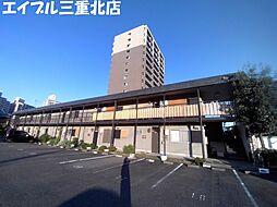 三重県桑名市大字桑名の賃貸アパートの外観