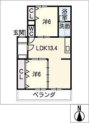 榊原ビル[2階]の間取り