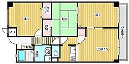 メゾン泉[1階]の間取り