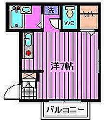 埼玉県さいたま市中央区下落合5丁目の賃貸マンションの間取り