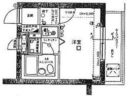 ライオンズマンション三鷹関前[4階]の間取り