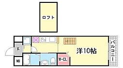 ワコーレヴィアノ上沢[104号室]の間取り