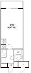 ピュアハイム本田[6階]の間取り