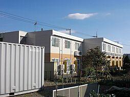 東京都町田市金森5丁目の賃貸アパートの外観