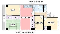 福岡県福岡市西区愛宕南2丁目の賃貸マンションの間取り