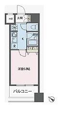 ドゥーエ新川[9階]の間取り