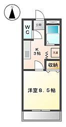 愛知県名古屋市緑区鳴海町字諸ノ木の賃貸マンションの間取り