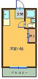 シャトレ・トーワ[402号室]の間取り