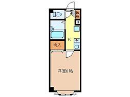 ピュアメゾン南石堂B棟[4階]の間取り