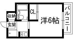 ローレルプラザ[2階]の間取り