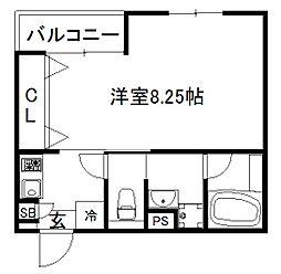 仮称)右京区太秦一ノ井町マンション[301号室]の間取り