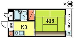 UNビル[4階]の間取り