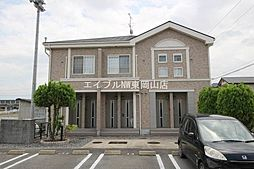 岡山県岡山市中区土田丁目なしの賃貸アパートの外観