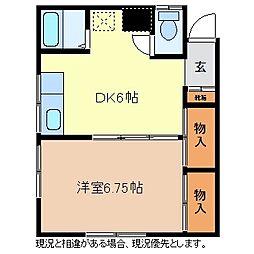 メゾン矢澤[2階]の間取り