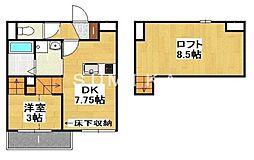 西川原駅 5.5万円