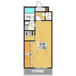 ヴァンヴェール35[4階]の間取り