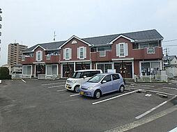 愛媛県東温市牛渕の賃貸アパートの外観