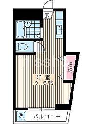 7221−渡会ビル[2F号室]の間取り