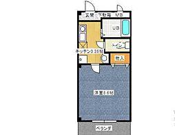 レジデンス240[1階]の間取り