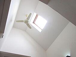 階段天井にはシ...