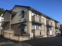 東京都八王子市小比企町の賃貸アパートの外観