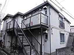 東京都品川区上大崎1丁目の賃貸アパートの外観