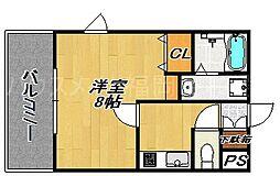 エンクレスト大手門II[2階]の間取り