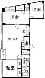 RIMSACK-1[3階]の間取り