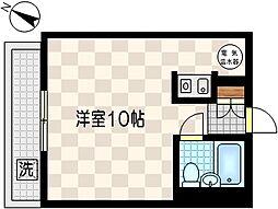 シャンボール川崎砂子[12階]の間取り