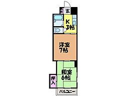 池田ビル・[3階]の間取り