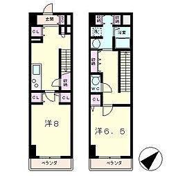 KDXレジデンス南草津[14階]の間取り