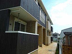 兵庫県加古川市平岡町土山字北畑の賃貸アパートの外観