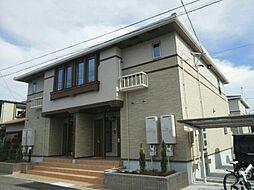 愛知県海部郡大治町大字花常字東江端の賃貸アパートの外観