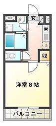 メゾン井沢パートIII[3階]の間取り