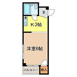 コンフォルト[3階]の間取り