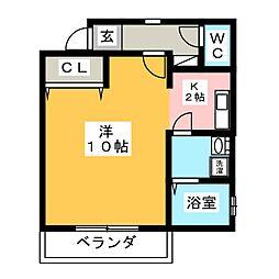 Pier5[2階]の間取り