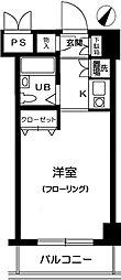 マイステージ世田谷砧[1階]の間取り