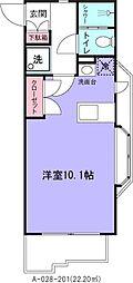 ローズマンションA28番館[201号室]の間取り