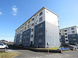 浅川団地200棟[3階]の外観