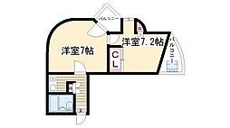 アパートメント・ロミオ[106号室]の間取り