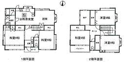 [一戸建] 兵庫県伊丹市松ケ丘3丁目 の賃貸【/】の間取り