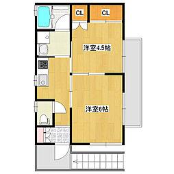 富士見町2丁目ペット可[2階]の外観