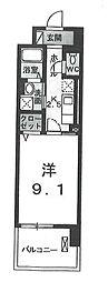 カーサグランデ[0503号室]の間取り