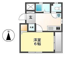愛知県名古屋市中村区鳥居通4丁目の賃貸マンションの間取り