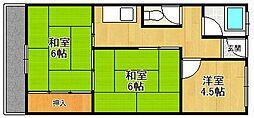 グレストマンション[306号室]の間取り
