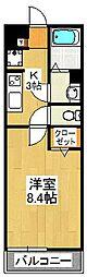 リブリ・akari[301号室]の間取り